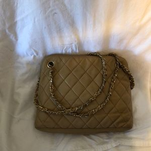 Authentic Chanel purse handbag small